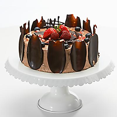 Chokladmoussetårta